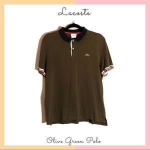 Lacoste Olive Green Polo